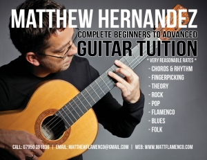 Guitar Tuition Flyer